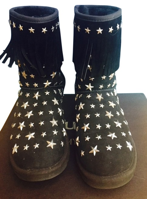 Item - Black And Ugg Australia Starlit Limited Edition Boots/Booties Size US 6 Regular (M, B)