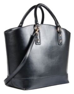 Martin Tote/Tory's Timeless Treasure Boutique Tote in Black w Gold