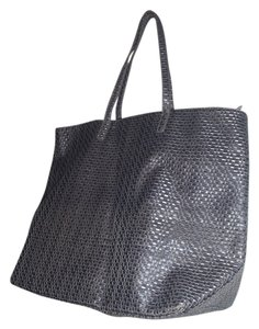 Mango Mngo Purse Tote in gray