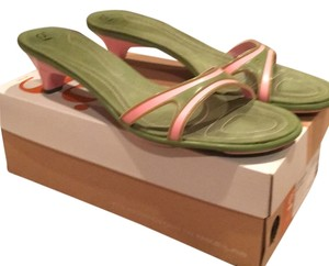 Cole Haan Pink/green Sandals