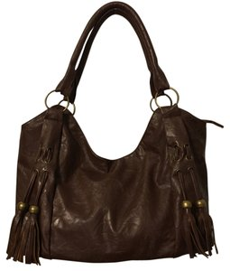 Amici Accessories Satchel in Brown