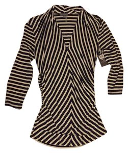 Vince Camuto Top Black/white stripes