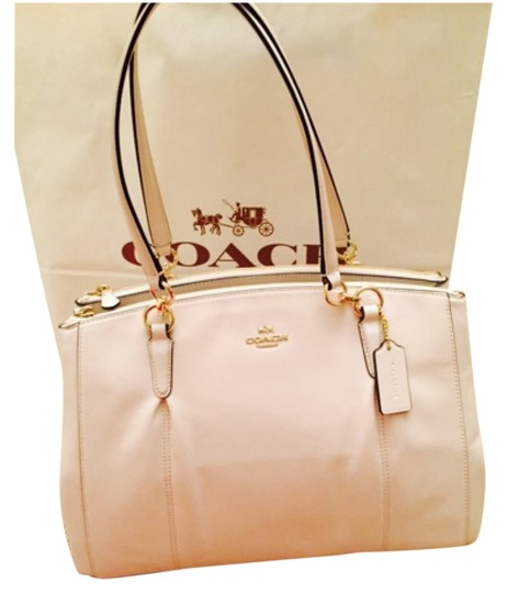 Preload https://item3.tradesy.com/images/coach-christie-f36680-carryall-in-chalk-smooth-leather-satchel-11167192-0-1.jpg?width=440&height=440