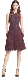 Carven Lace Lace Burgundy Cornelis Wedding New Sold Out Dress