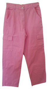 Bakito Petite Casual Comfortable Straight Pants Pink