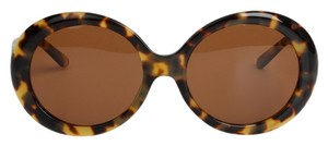MEGUMI-O MEGUMI-O Asian Fit Jackie O Sunglasses in Light Tortoise with Polarized UV400 RX-able Lens