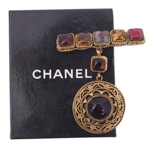 Chanel CHANEL MULTI-MEDIA GRIPOIX BROOCH