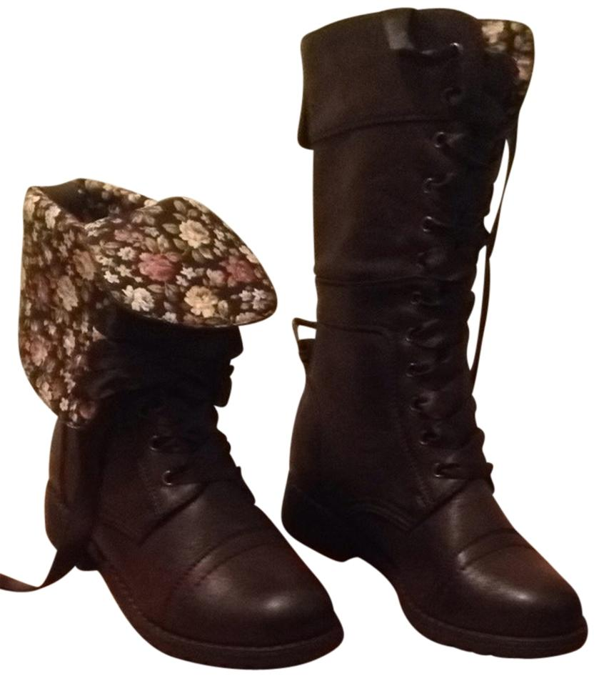 women Wild Pleasant Diva Brown Timberly-43 Boots/Booties Pleasant Wild feeling 5d9cd8