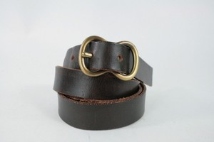 Paul Stuart Brown Leather Belt