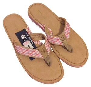 Sperry Rose/Gingham Sandals