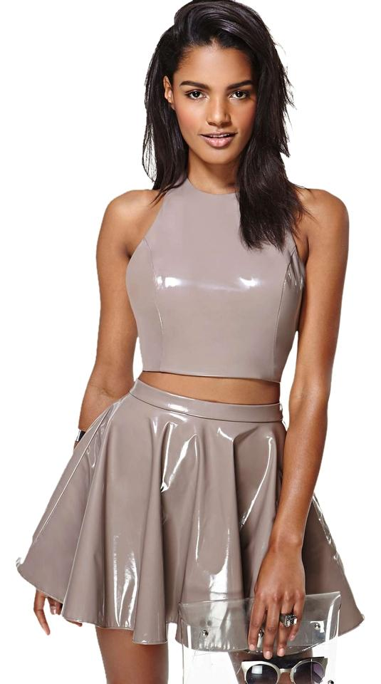 b1765757786 Nasty Gal Rave Dollskill Dolls Kill Unif Crop Top Skater Skirt Hologram  Karmaloop Dress Image 0 ...