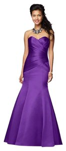 Alfred Angelo Satin 100% Polyester Dress
