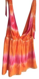 Alice + Olivia Top Orange & Pink