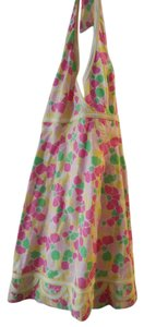 Lilly Pulitzer short dress Multi Color Lily Halter on Tradesy