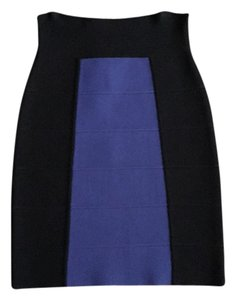 BCBGMAXAZRIA Skirt Black, purple