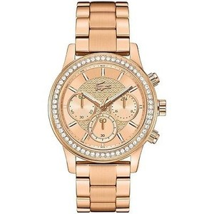 Lacoste Lacoste 2000834 Womens Charlotte Rose Gold Tone Stainless Chronograph Watch