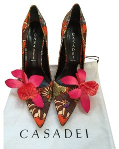Casadei Red/Multi Pumps