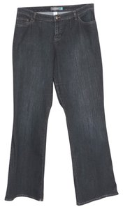 Venezia by Lane Bryant Right Fit Circle Stretch Flare Leg Jeans-Dark Rinse