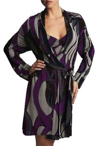 Natori short dress Pucci-style Wrap Robe Print Viscose on Tradesy