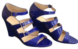 J.Crew Deep Violet Wedges