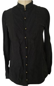 Juicy Couture Button Down Shirt Blac