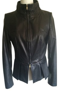 Hugo Boss Luxury Leather Soft Leather Leather Jacket