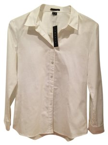 Theory New Button Down Button Down Shirt white