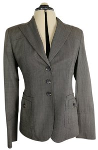 Anne Klein Cargo Houndstooth Brown mini check/tweed Blazer