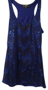 Almost Famous Clothing Top Cobalt blue