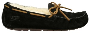 UGG Australia Slippers Mocassins Black Flats