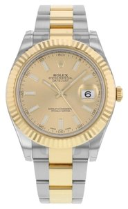 Rolex Rolex Datejust II 116333 CHIO Steel & 18K Yellow Gold Automatic Men's Watch (11879)