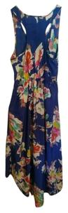Target short dress Blue Multi Hi Lo Floral Hi Low Floral on Tradesy