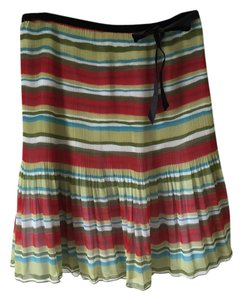 Beau Bois Skirt Multi-Stripes