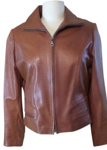 Bart Cognac Leather Jacket