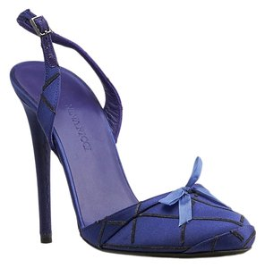 Nina Ricci Black, Purple Pumps