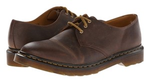 Dr. Martens Dr Dorian 3-eye Shoe Brown Flats