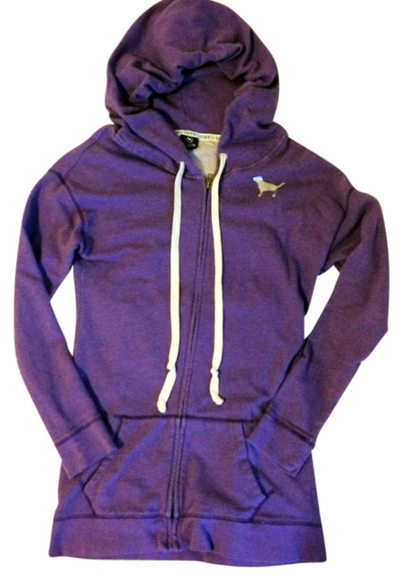 Item - Purple Vs Pink Purple/Silver Longer Hoodie Activewear Size 12 (L)