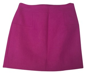 J.Crew Mini Skirt Dark magenta
