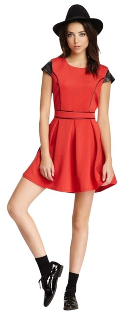 Romeo & Juliet Couture short dress Red/Black on Tradesy