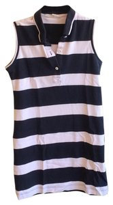 Brooks Brothers short dress Pink and navy on Tradesy