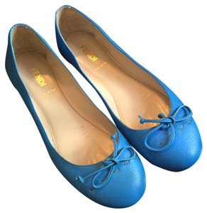Fendi True Blue Flats