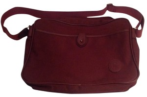 Polo Ralph Lauren Vintage Luggage Carry On Maroon Messenger Bag