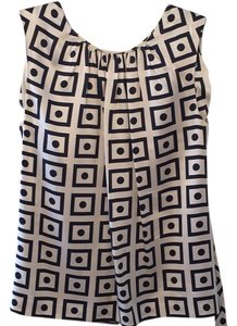 Tory Burch Top Navy / cream