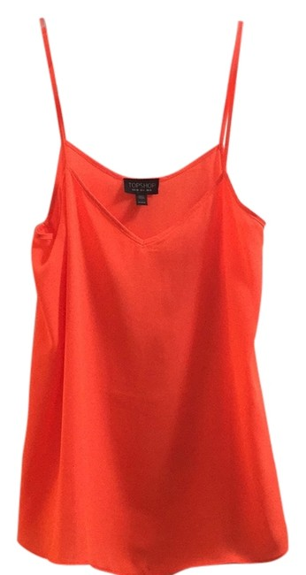 Item - Neon Orange Tank Top/Cami Size 6 (S)