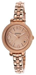Fossil Fossil Women's 'Heather' Mini Stainless Steel Rose Gold-tone Watch es3136