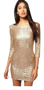 TFNC Mini Sequin Sequin Bodycon Dress