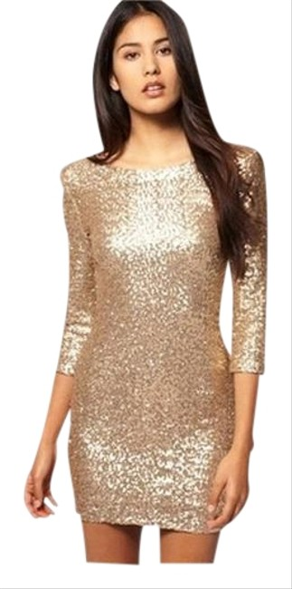 Preload https://item4.tradesy.com/images/tfnc-gold-london-sequin-party-mini-night-out-dress-size-4-s-1117923-0-1.jpg?width=400&height=650