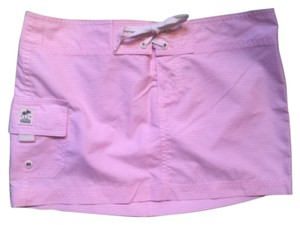 Island Company Mini Skirt Pink, white