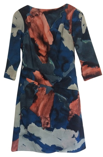 Vince Camuto Blue Short Night Out Dress Size 4 (S) Vince Camuto Blue Short Night Out Dress Size 4 (S) Image 1