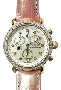 Michele Ladies Chrono CSX 36 Series Watch With Diamonds 0.64 Ct Tw. MW03M01C5046
